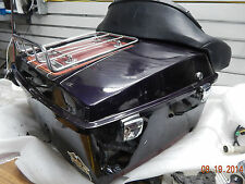 Tour pack pak Harley touring FLH classic ultra electra glide dresser 1987 ruby