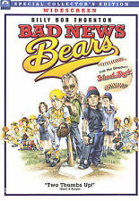 Bad News Bears (DVD, 2005, Widescreen) Greg Kinnear, Billy Bob Thornton