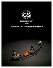 Factory Style - 3/8th CTS - Les Paul Jr - Cm - 50s Style Wiring Harness