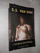 L ENIGMA DELL ALFIERE S S Van Dine Newton 1993 grandi maestri del giallo romanzo