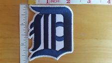 MLB Baseball DETROIT TIGERS Logo embroidered Iron on Patch Shirt Bag Cap
