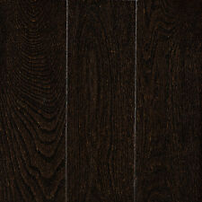 Red Oak Ebony HARDWOOD floor! a real beauty