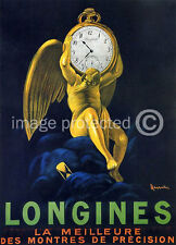 Longines Leonetto Cappiello Vintage Advert Poster 18x24