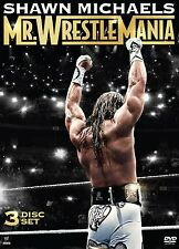 Official WWE Shawn Michaels : Mr Wrestlemania DVD - 3 disc
