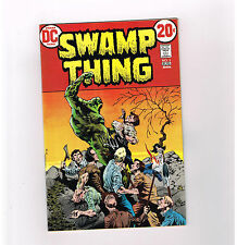 SWAMP THING (V1) #5 Grade 9.0 Bronze Age DC! Gorgeous Wrightson cover art!