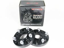 Super GT Hubcentric Bolt On Wheel Spacer 5x114 64.1 15mm M12x1.5 Honda Civic EP3