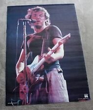 Bruce Springsteen Live Solo 1980s Peter Mazel Holland Music Poster #RO 096 VG