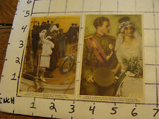 COTE D'OR chocolat belge cards (2 cards) group 3 red/brown back
