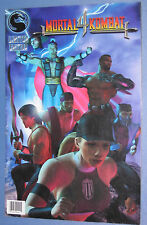#1 MORTAL KOMBAT 4 Limited Edition (1998) Very Rare Comic Book