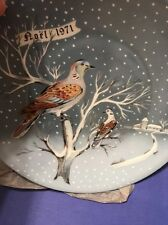 Haviland Limoges The Twelve Days of Christmas Plate Two Turtle Doves 1971