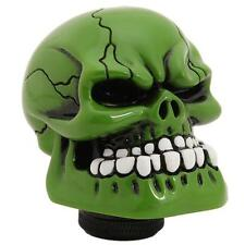 HOT! Green Skull Head Car Truck Manual Stick Gear Shift Knob Lever Shifter JAZZ