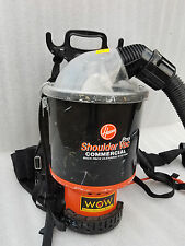 HOOVER PRO SHOULDER COMMERCIAL BACK PARK CLEANING SYSTEM, VACUUM CLEANER C2401