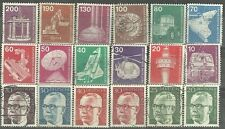 WEST GERMANY Technology & Industry - Definitive Stamp Mixture WYSIWYG Lot