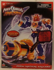 Power Rangers Ninja Storm - Storm Lightning Megazord Lights & Sound Bandai MISB