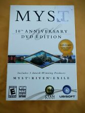 Myst 10th Anniversary DVD Edition Small Box (PC/MAC, 2003) Boxed and Complete