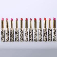 Professional 12pcs/lot Makeup Lipstick Waterproof Cosmetic Lip Gloss Rouge