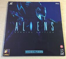 Aliens Special Edition PAL (UK) Laser Disc