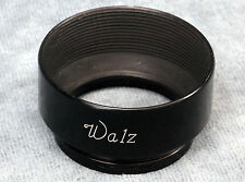 WALZ METAL PUSH ON 36MM ID LENS HOOD - FOR MAMIYA SIX? WITH MAMIYA LOGO
