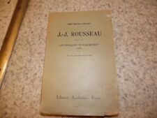 1890.Jean Jacques Rousseau jugé par français d'aujourd'hui.Grand-Carteret