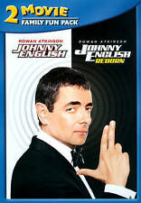 JOHNNY ENGLISH 2-MOVIE FAMILY FUN PACK (NEW DVD)