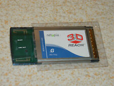 CARTE INTERNET wireless PC CARD NETOPIA 3D REACH 802.11b/g