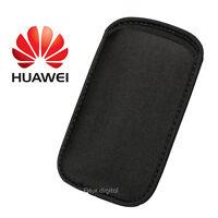 Black Neoprene Shock Resistant Mobile Phone Case Cover Pouch For HUAWEI Ascend
