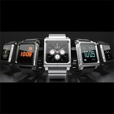 Silver LunaTik LYNK Multi-Touch Wrist Watch Band for iPod Nano 6 6th Gift