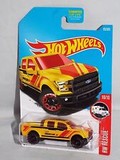 Hot Wheels 2017 HW Rescue Series #65 '15 Ford F-150 Yellow