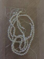 Mother of pearl x 60 pieces bijoux pierres artisanat collier boucles d'oreilles perles