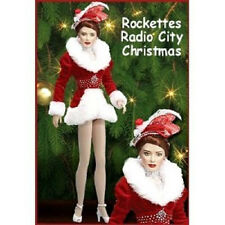 "FRANKLIN MINT ROCKETTES RADIO CITY CHRISTMAS SPECTACULAR 17"" VINYL DOLL NEW COA"
