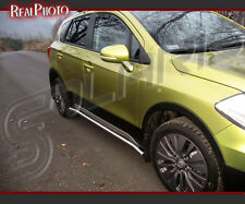 SUZUKI SX4 MK2 S-CROSS 2013+ SIDE BARS KIT !!! + GRATIS!!! STAINLESS STEEL
