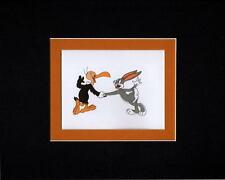 BEAKY BUZZARD & BUGS BUNNY PROFESSIONALLY MATTED PRINT Looney Tunes