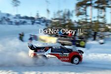 Petter Solberg Citroen DS3 WRC Swedish Rally 2011 Photograph