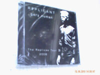Gary Numan 'Replicant' AND 'Small Black Book' Double Audio CD Tour Programmes.
