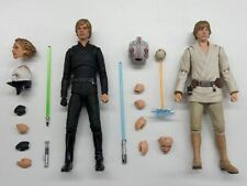 Star Wars Bandai SH Figuarts Luke Skywalker Return of the Jedi + New Hope NO BOX