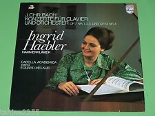 Bach - Ingrid Haebler Melkus - Klavierkonzerte Nr.1,2,3,4 - Philips LP