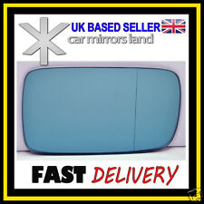 Right Driver Wing Mirror Glass Blue Wide Angle BMW E46 98-05 BMW7 E65 E66 02-08