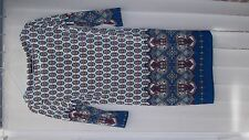 Women's Atmosphere Tunic Dress UK Size 10 with geometric print