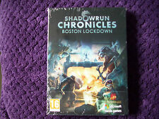Shadowrun chronicles boston lockdown pc dvd neuf & scellé