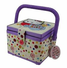 Hello Kitty Craft Sewing Basket Box