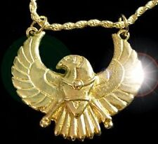 LOOK Egyptian HORUS Egypt pendant charm Silver Gold Plated