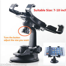"NEW 7""-10"" Tablet Car Windshield Instrument Desk Bracket Ipad GPS Mount Holder"