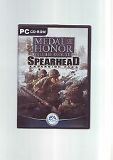 MEDAL OF HONOR ALLIED ASSAULT : SPEARHEAD - PC GAME - ORIGINAL & COMPLETE - VGC