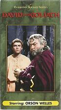 David and Goliath Orson Welles vhs
