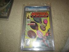 MASTERS OF THE UNIVERSE #2 RARE HE-MAN COMIC CGC 9.8!!!!