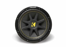Kicker Comp 12 12-Inch 500W Peak / 4OHM Car Audio Subwoofer - 10C124 - NEW!!