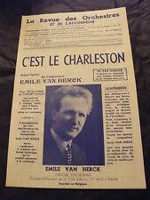Partition C'est le Charleston Emile Van Herck