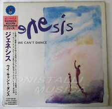 GENESIS - WE CAN'T DANCE - CD Japan w/Obi Vinyl Replica Sealed