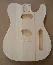 CUSTOM ORDER TFB UNFINISHED WHITE PINE GUITAR BODY FITS TELECASTER TELE NECK