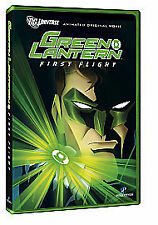 Green Lantern - First Flight (DVD, 2011) Very Good Condition